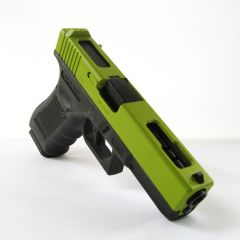 WE G18c UK Green Gen4 GBB Airsoft Pistol